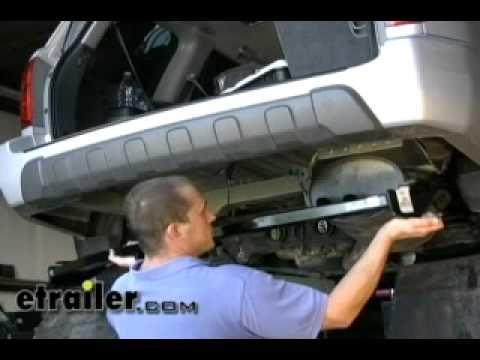 Trailer Hitch Installation - 2004 Honda Pilot - etrailer.com - YouTube