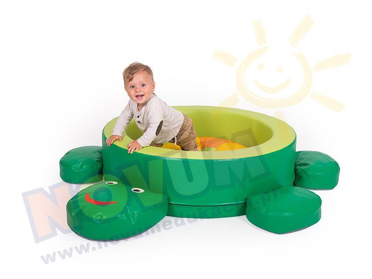 Żółw - kojec dla dzieci #novum #novumedukacja #kids #forkids #forbaby