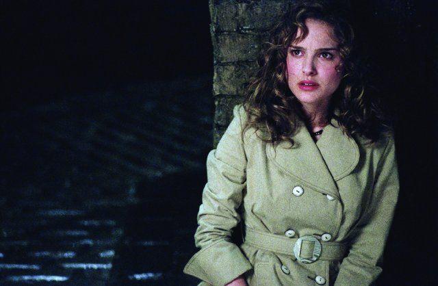 Natalie Portman with curly hair