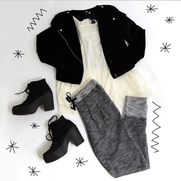 A little look we've put together for xmas! Chic and comfy!