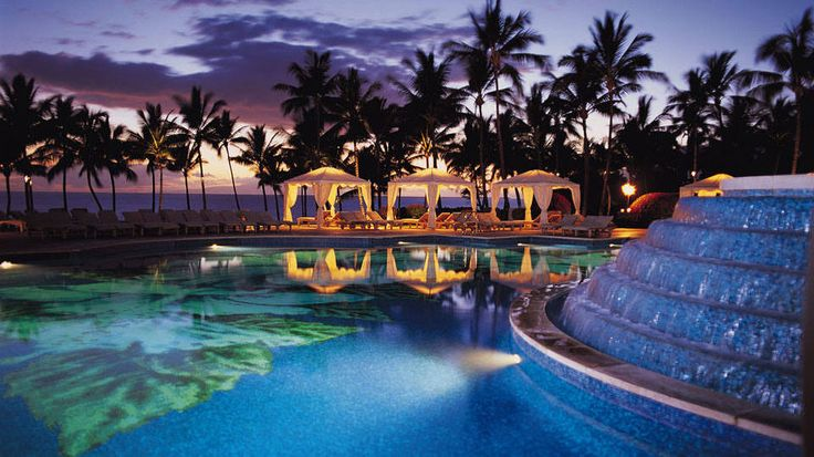 Piscina do Grand Wailea, da rede Waldorf Astoria