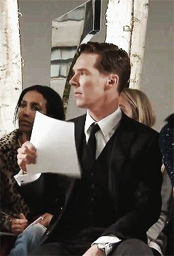 Benedict Cumberbatch New York, Boss Fall 2014. <<< yes, Ben, we know you're hot.