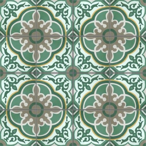 Moroccan Encaustic Cement Pattern 29c | £ 2.86 | Moroccan Cement Tiles