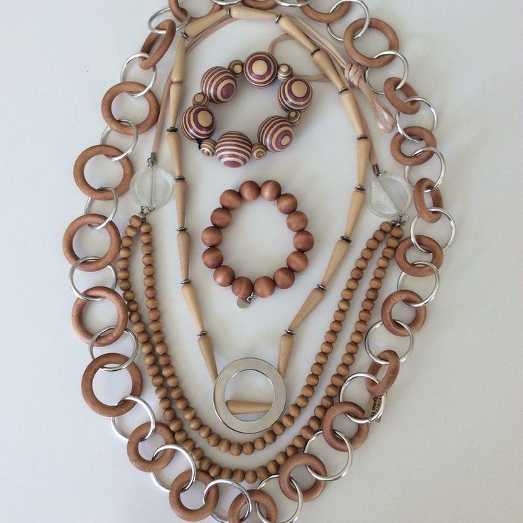 Aarikka Wood jewellery