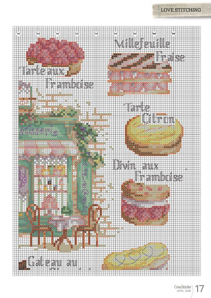 French Fancies From Cross Stitcher N°303 April 2016 4 of 6