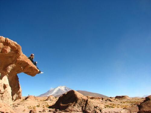 The Bolivian part of the Atacama Desert