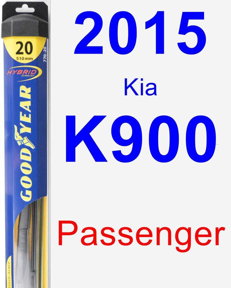 Passenger Wiper Blade For 2015 Kia K900