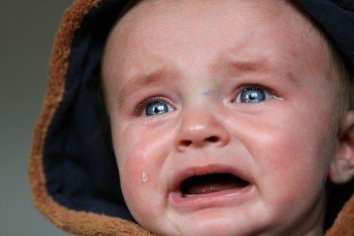 Baby, Könnyek, Kis Gyerek, Szomorú
