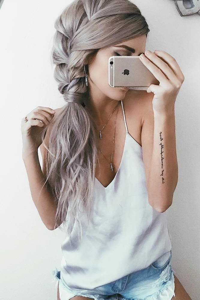 Side braid is a life saver in any situation for long hair. Lifeless long locks? Braids are an ultimate answer. These great ideas will save any Rapunzel and liven up her look.