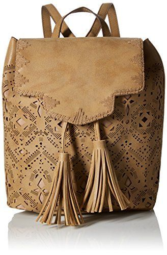 New Trending Backpacks: T-Shirt  Jeans Perforated Flap Back Pack, Tan. T-Shirt  Jeans Perforated Flap Back Pack, Tan  Special Offer: $26.40  166 Reviews Flap perforated back packMini sizedBack wall zipper compartmentAdjustable back pack strapsPerforated detail