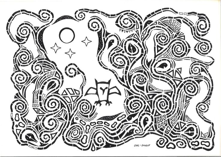 Owl-Doodle, Lars Overballe 2015