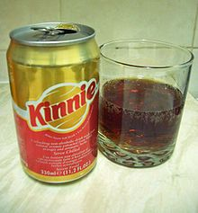Kinnie Soft Drink from Malta