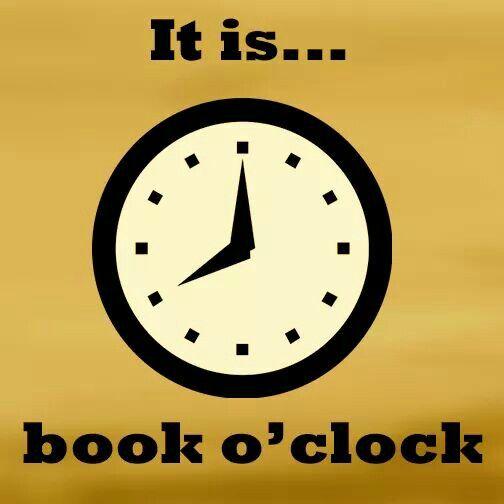 It's always book o' clock! http://writersrelief.com/