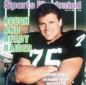 oakland raiders players from the 80's | Oakland Raiders All-Pro Defensive End, Howie Long