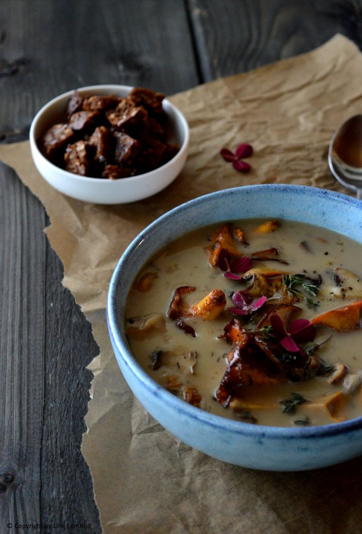 Svampe suppe
