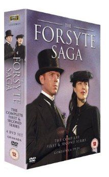 Damien Lewis plays Soames Forsyte, a possessive (and obsessed) tyrant, though you do kind of get where he's coming from.  I liked him better in Band of Brothers, but The Forsyte Saga miniseries was very well done.  If you've got a hankering for Downton Abbey era shenanigans, you will like it.