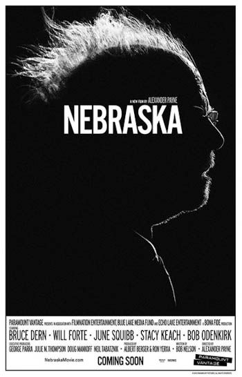 Nebraska. Carteles de cine 2013.