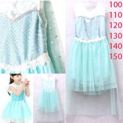 dress frozen sayap b2w2 sc-15244