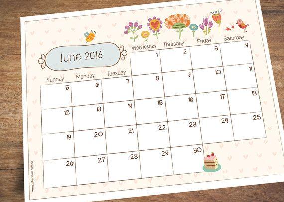 June Calendar Decorations : Best calendar june ideas on pinterest