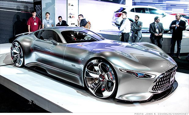 The Mercedes-Benz AMG Vision Gran Turismo Concept was developed for the PlayStat...