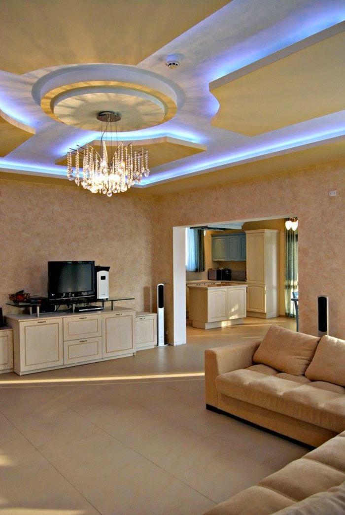 indirekte beleuchtung wohnzimmer modern – secretstigma, Innenarchitektur ideen