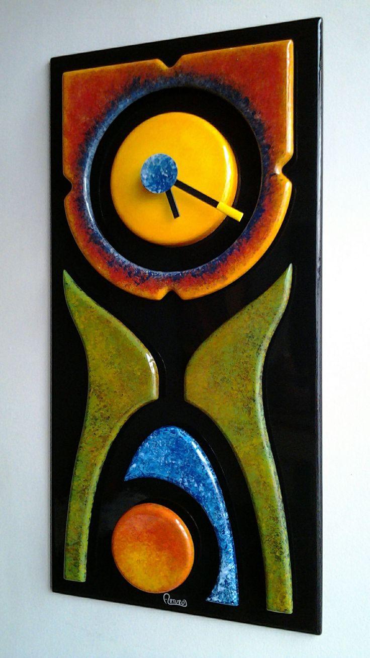 Reloj de pared. 20 x 40 cm. MODELO DESCONTINUADO 📲 💬312 4962895 cromatempo@gmail.com