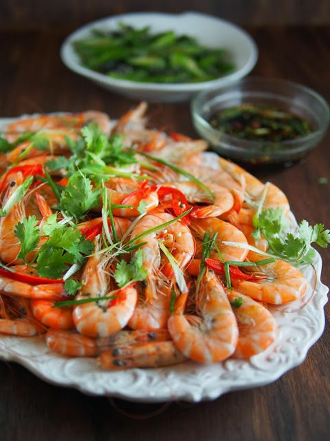 Cantonese, gamberi bolliti | Foodmanna