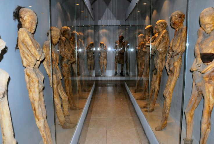 Museo de las momias en Celaya Guanajuato. Pantheon Museum of the Mummies of Celaya, Celaya, Guanajuato.  Fuente: Google