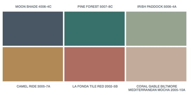 Valspar S 2016 Paint Colors Of The Year Offer A Palette