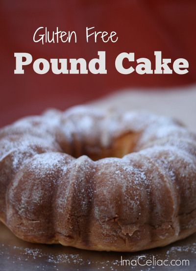Simple Gluten Free Pound Cake