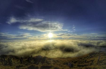 Sea Of Clouds Photo by Adrian Kilua Caballero — National Geographic Your Shot