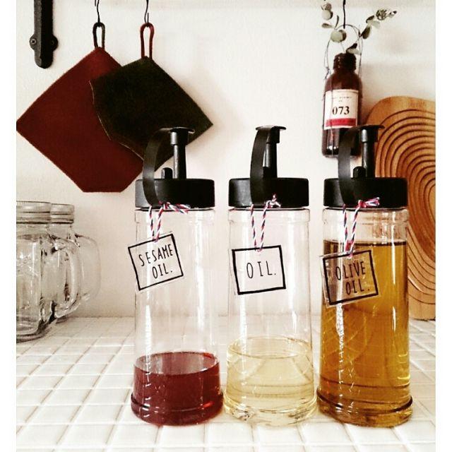 キャンドゥのオイルボトル。人気の商品と使い方アイディア集 | iemo[イエモ]