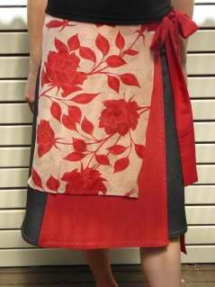 Japanese fabric skirt. Hoping this will inspire Jeannette
