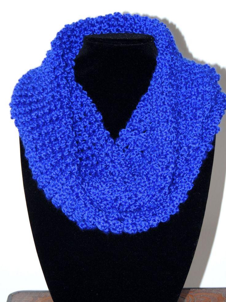 Crochet : Bufanda Tubo ❥Teresa Restegui http://www.pinterest.com/teretegui/❥