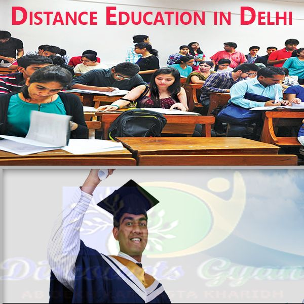 We can collect understanding from special sources of Distance Education in Delhi. Those are in which most of our know-how comes from. First thing is with a proper training. Starting from our adolescence days, we are all added to high school by means of our parents.