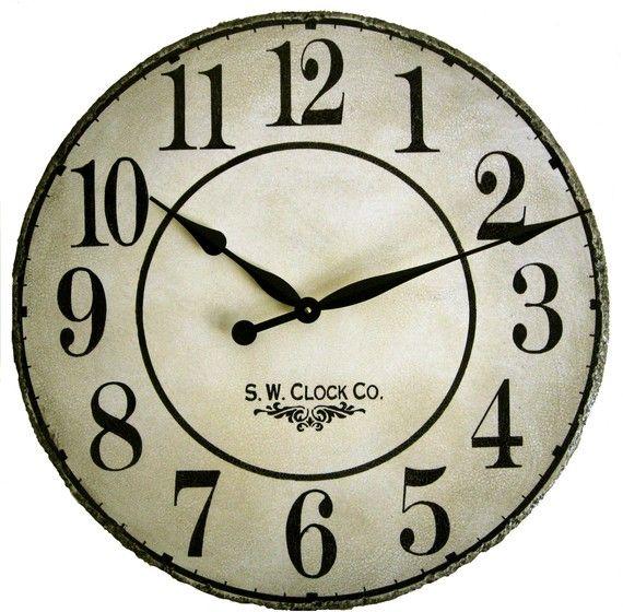 24 Best Images About Clocks On Pinterest | Vineyard, Modern Wall