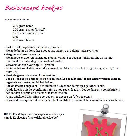 Koekjes bakken en versieren met glazuur