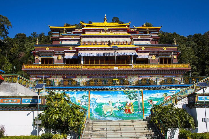 Rumtek Monastery, Sikkim. | 21 Spectacular Places Of Worship In India