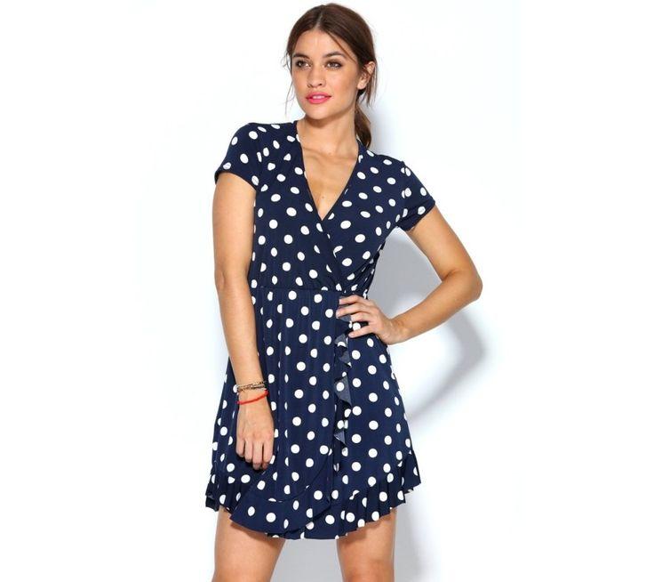 Krátke šaty s bodkami | modino.sk #ModinoSK #modino_sk #modino_style #style #fashion #summer #dress