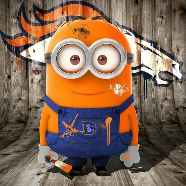 Denver Broncos Minion