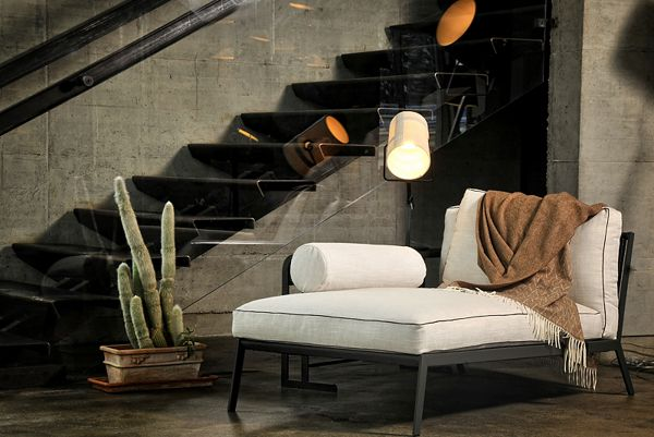 The Arc Chaise piece looks fab as a feature item in a room