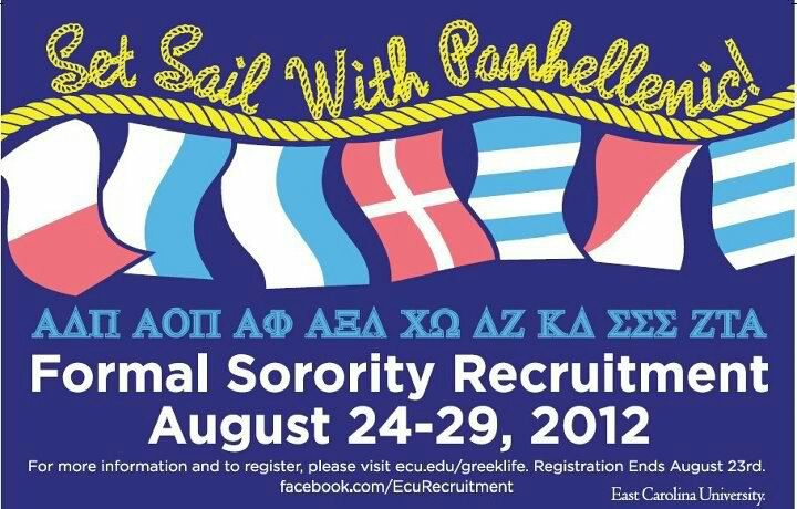 GO GREEK! heresmynumbercallmemackenzie: East... | sorority sugar
