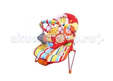Жирафики Детское кресло-качалка Веселый зоопарк  — 2230р. ------  Жирафики Детское кресло-качалка Веселый зоопарк    Особенности:   Вибрация, 10 мелодий, регулировка громкости звука.   Дуга с 3-мя развивающими игрушками: погремушка динозавр, шуршащая тканевая книжечка, зеркало.   3 позиции положения кресла.  3-х точечный ремень безопасности.  Ограничение по весу -до 9  Размеры 51х78х59 см.