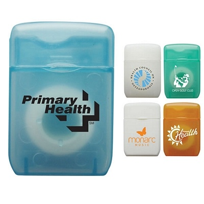 Pocket Size! $0.86/each Promotional Traditional Rectangular Shaped Dental Floss | Customized Dental Floss | Advertising Dental Floss