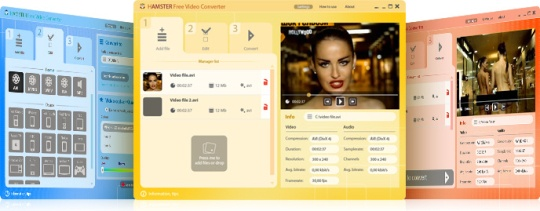 100% Free Download Video Converter from Hamstersoft, Hamster Free Video Converter, Hamster Free Video Converter 3.0, Hamster Free Video Converter 2.5