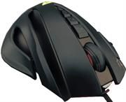Gaming Hardware | S.A.T. Electronics Gamdias Zeus GMS1100 Gaming Laser Mouse with adjustable weights- 8200 DPI 32-bits ARM Cortex processor 512KB on-board memory, 11 Smart Keys with 9 programmable, USB Interface-Black, Retail Box, 1 Year warranty  R 844.67