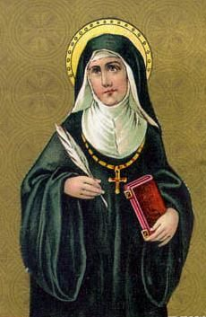 "Hildegard von Bingen  "" Thus am I , a feather on the breath of God."""