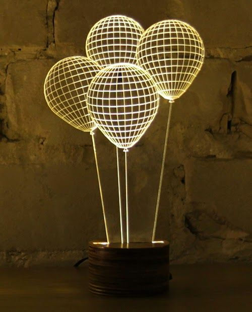 Laser Etched Acrylic Lamp Google Search Lamp Design