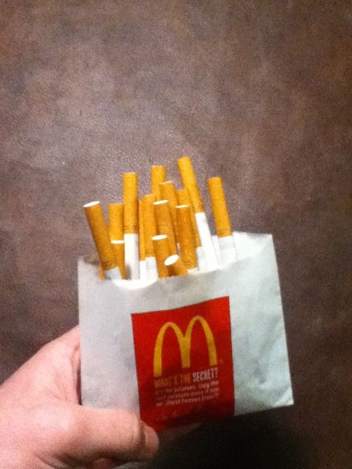 McDonald's french fries: as addicting as cigarettes ...