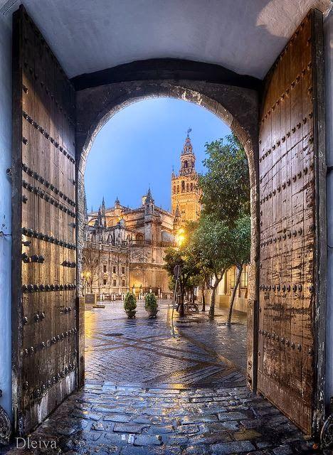 Sevilla, Andalucia, Spain!